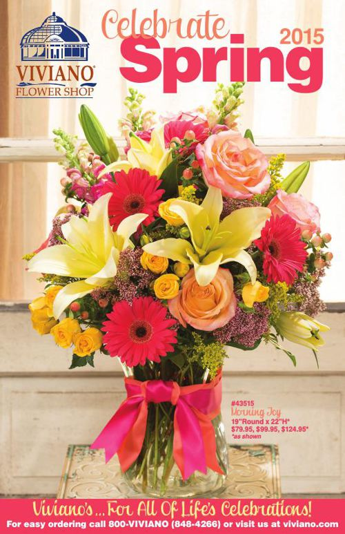 Viviano Flower Shop Spring Catalog 2015