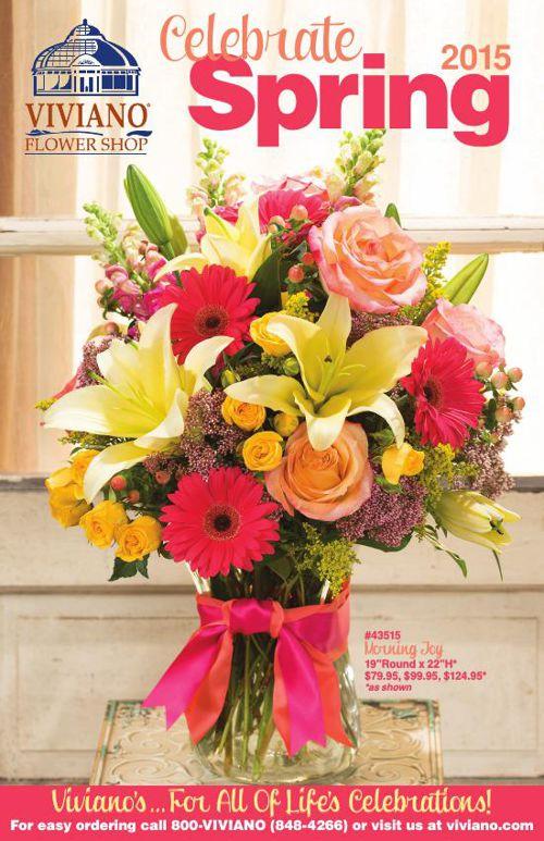 Viviano Flower Shop Spring Catalog 2015