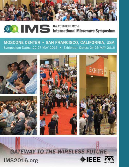 IMS2016   May 22 to 27, 2016   San Francisco
