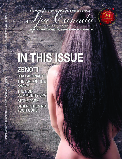 Spa Canada July:August 2016