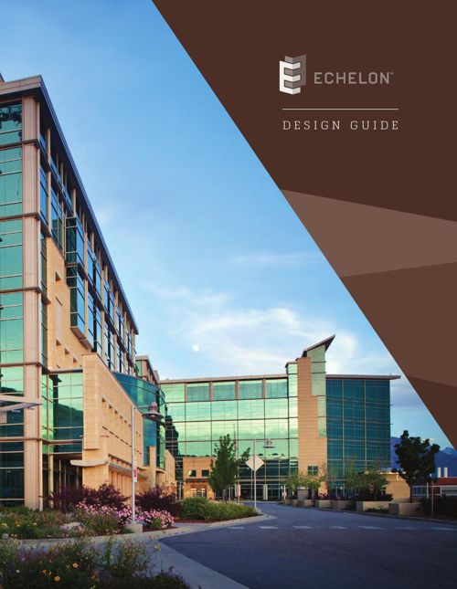 Echelon Masonry Design Guide - Amcor