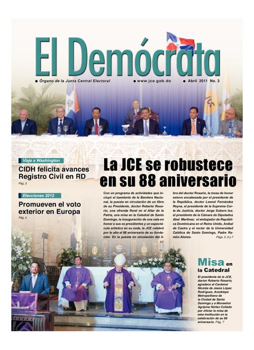 El Demócrata - Ediciones 1, 2 y 3 - W