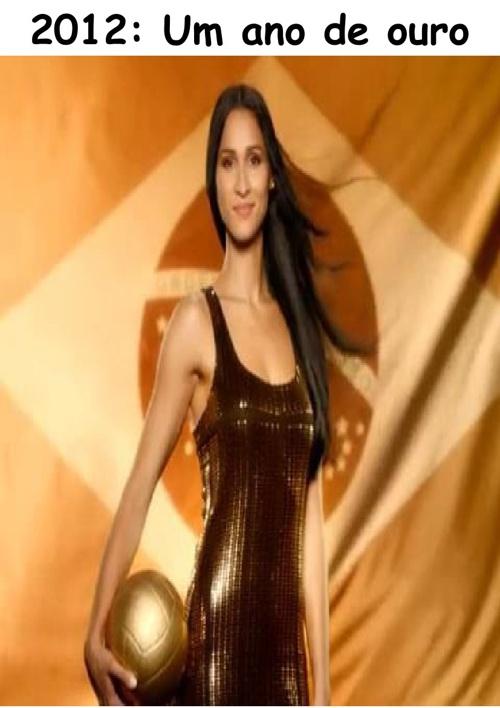 Jaqueline Carvalho - 2012: Um ano de ouro