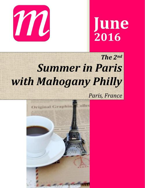 2016 MP - Mahogany in Paris -Welcome Guide