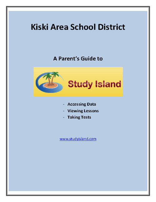 A Parent's Guide to Study Island
