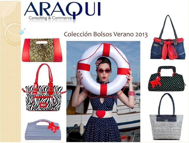 ARAQUI Catálogo Bolsas 2013