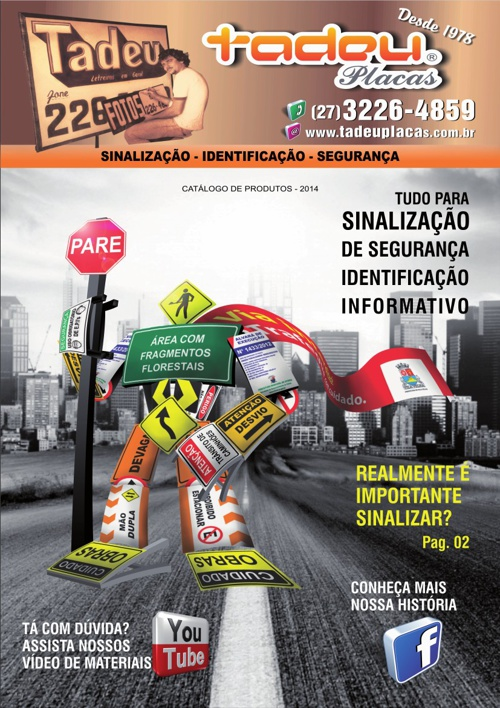 Tadeu Placas - Catalogo