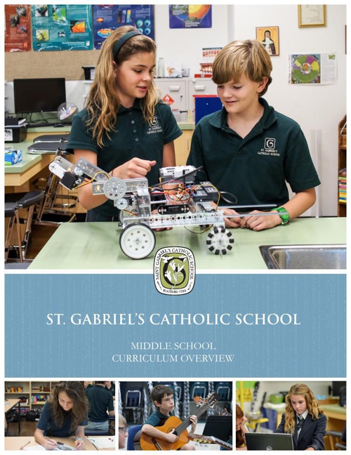St. Gabriel's Middle School Curriculum