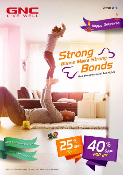 GNC Oct'16 > Strong Bones Make Strong Bonds