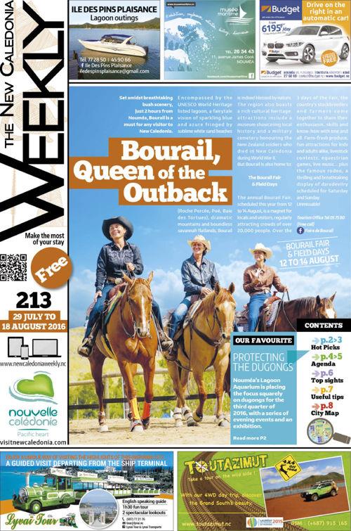 Weekly N°213 29 July- 18 August
