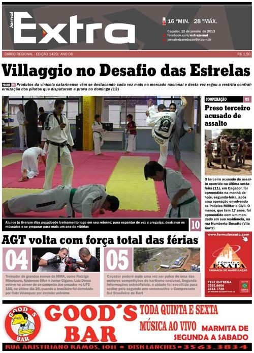 Jornal Extra 15/01/2012