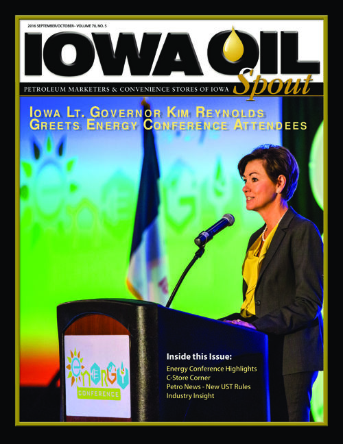 2016 Iowa Oil Spout - September/October
