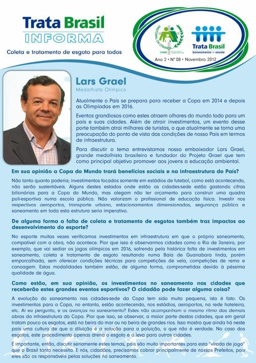 8ª Edição do Boletim Trata Brasil / Pastoral da Criança