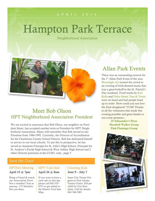 HPT Newsletter 2014-04