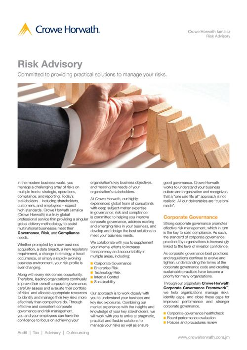 Risk Advisory -Jamaica