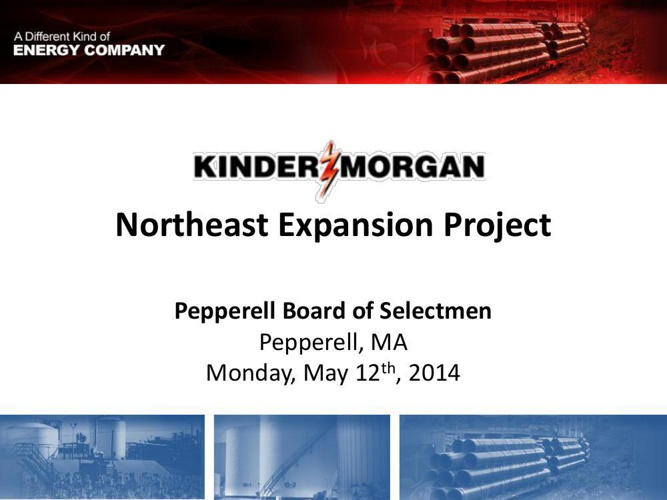 Kinder Morgan, Tennessee Gas Pipeline's proposed Northeast Expan