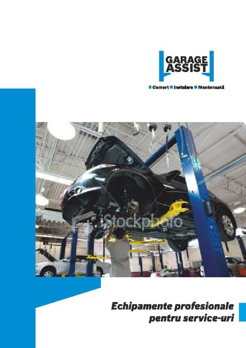 Garage assitance teszt