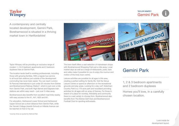 Gemini Park, Borehamwood