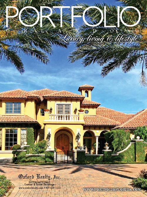 Portfolio Florida - Luxury & Living Feb/March issue
