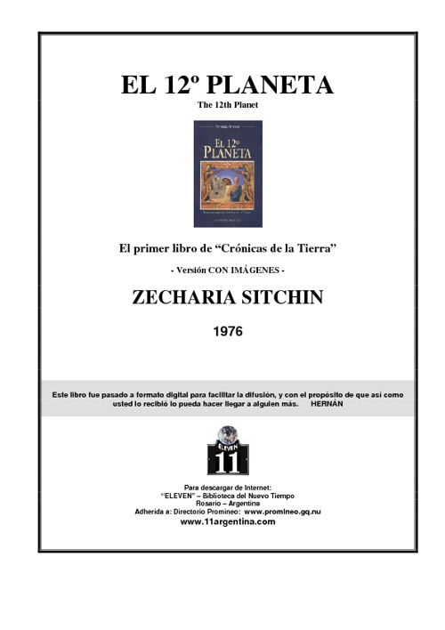 Sitchin Zecharia