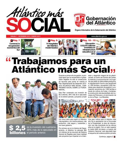 Periódico Gobernación 2012