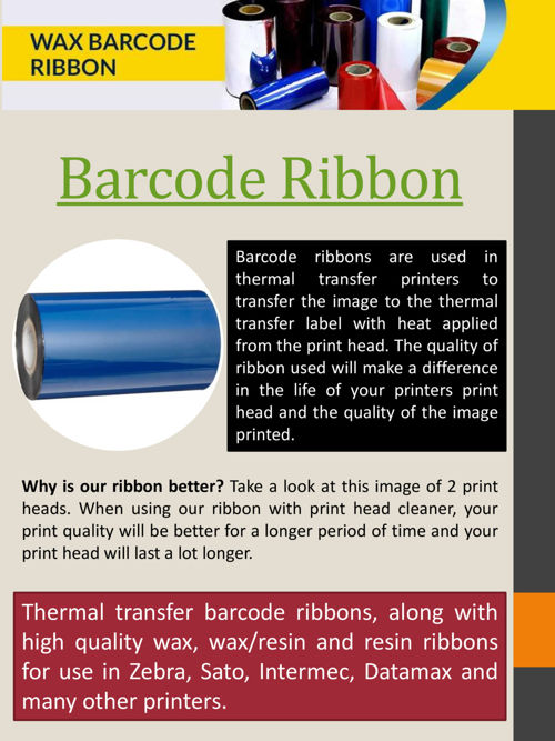 Barcode Ribbon