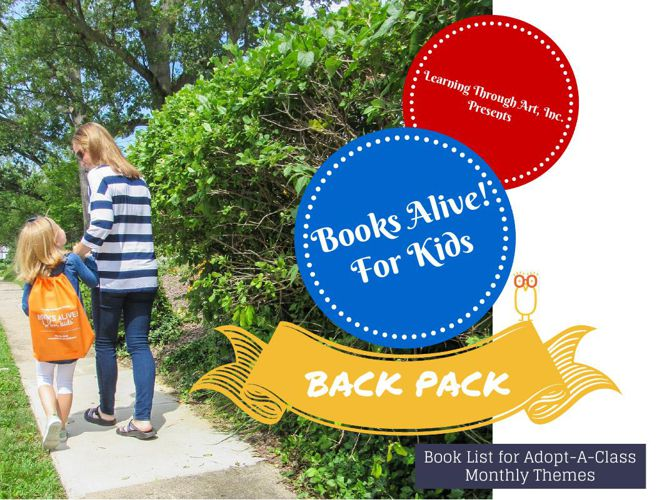 Books Alive! For Kids Back Pack- AAC
