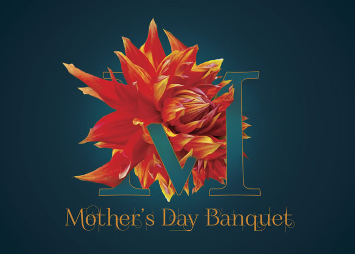 Mothers Day Banquet Invitation