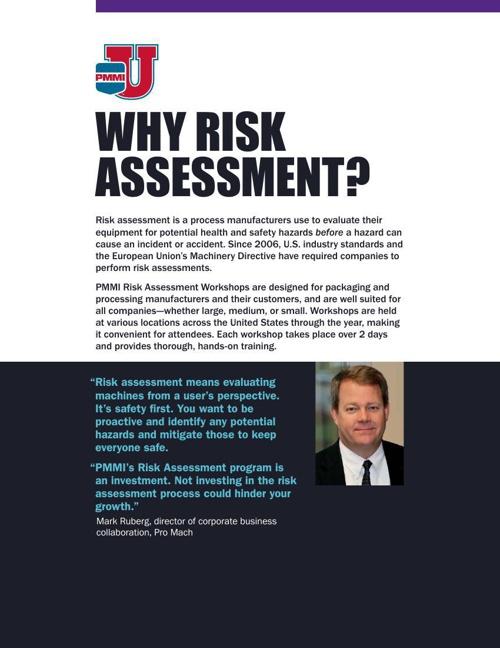 PMMI RiskAssessment