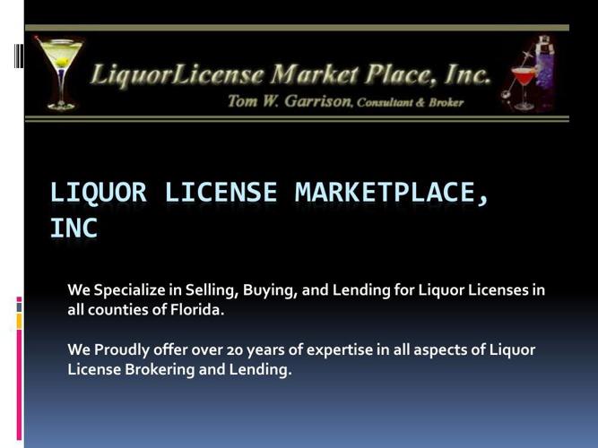 Florida Liquor License