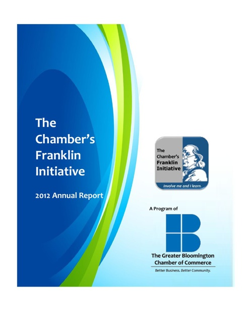 The Chamber's Franklin Initiative Annual Report 2012