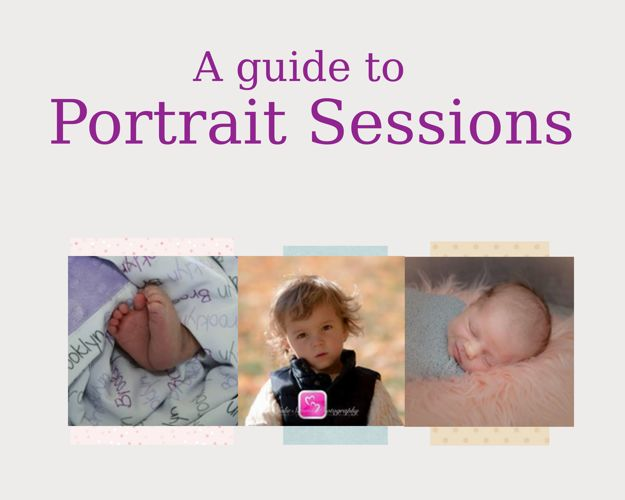 Portrait Session Guide,  Julie Simms Photography