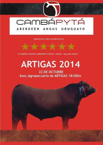 Catálogo Artigas 2014