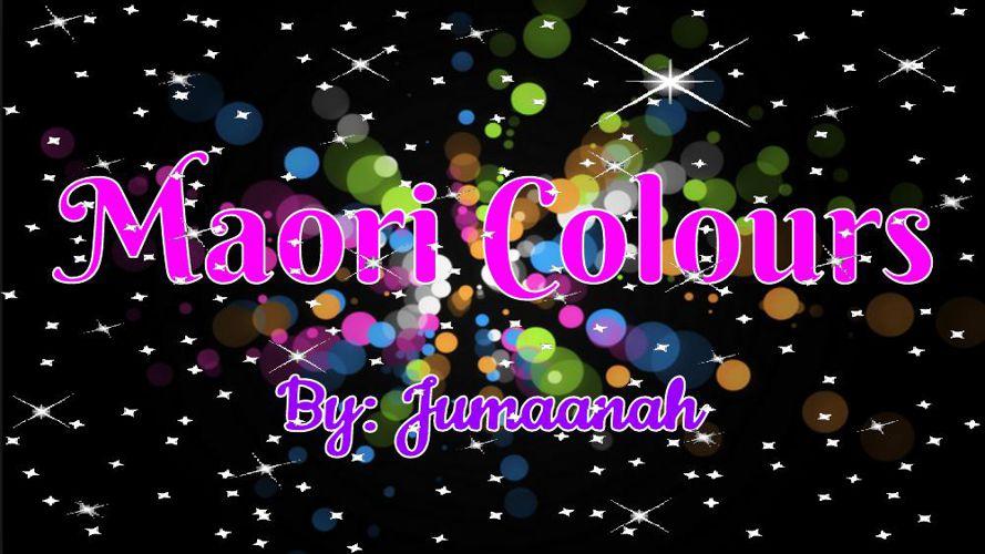 Te Reo Colours (1)