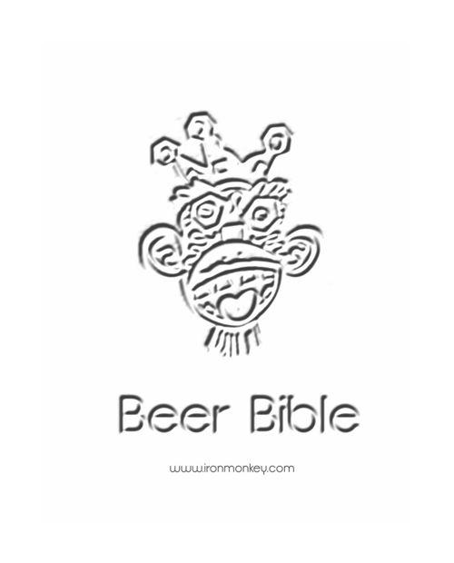 Iron Monkey Restaurant • Bar Beer Menu March 17th 2016
