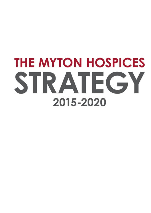 The Myton Hospices Full Strategy 2010 - 2020