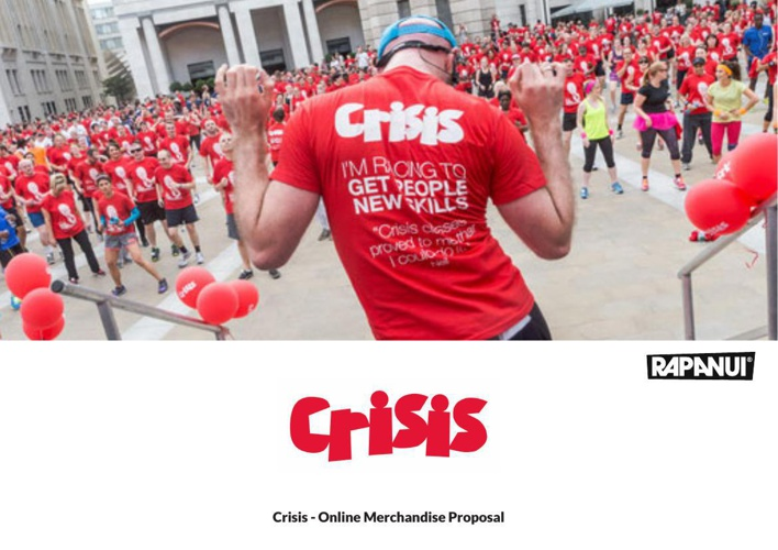 Crisis - Online Merchandise Proposal