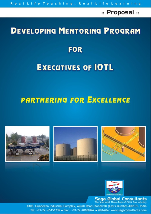 Developing Mentoring Program for Executives of IOTL
