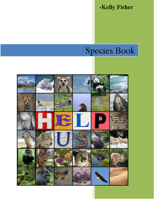 Kelly F.'s Species Book