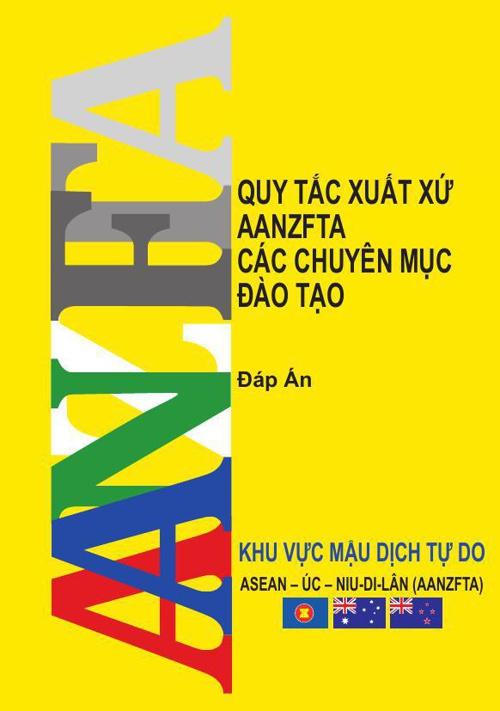 AANZFTA Answer Book Viet Nam