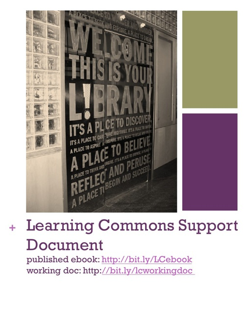 Learning Commons Support Document