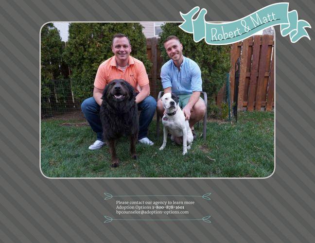 Robert and Matt's Adoptive Family Website