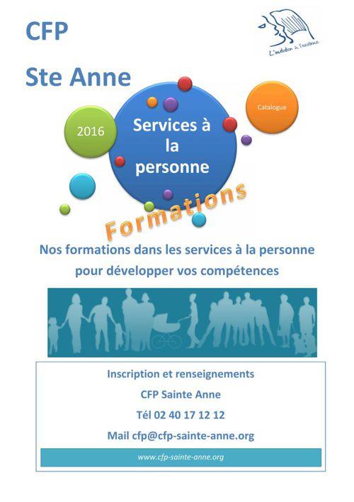 Services aux Personnes 2016