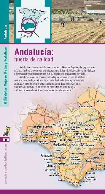 Las mejores frutas y hortalizas de Andalucia