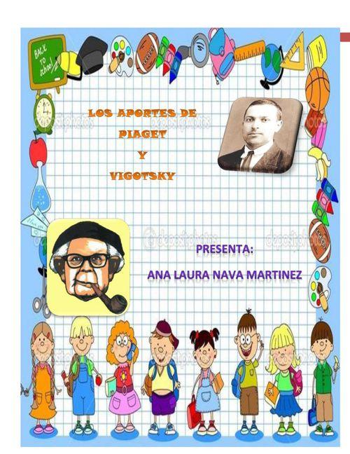 LOS APORTES DE PIAGET Y VIGOTSKY