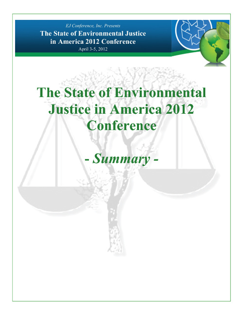 6th Annual State of Environmental Justice in America Conference