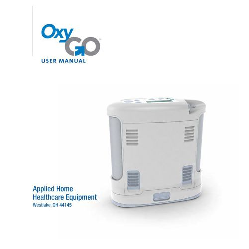 OxyGo User Manual