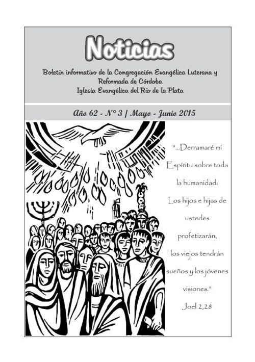 Boletín Noticias - Mayo | Junio 2015