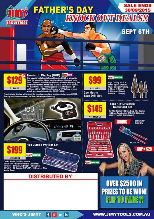 Jimy Tools Flyer - Knockout Deals!