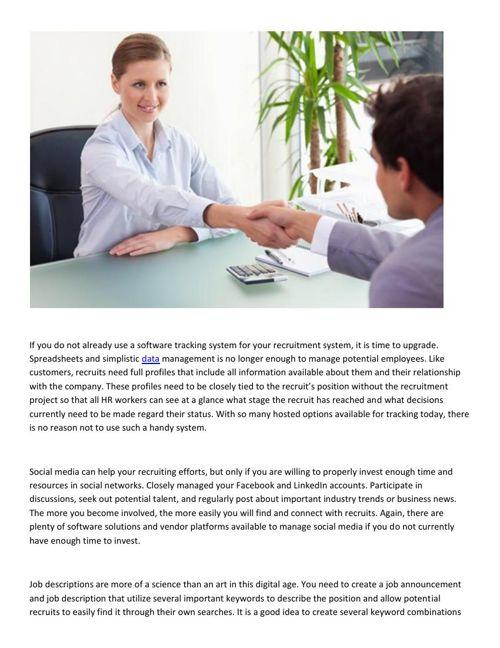 Meir Ezra - Ideas to Improve Your Hiring Strategy